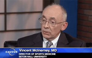 Dr. McInerney Makes Television Appearance